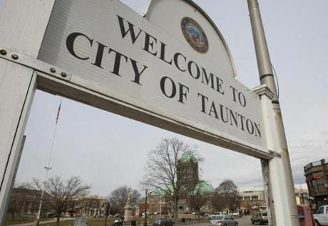 "Mayor Tom Hoye of Taunton said a casino resort ""could potentially be the shot in the arm that our city needs to once again be the gem of Southeastern Massachusetts.''"
